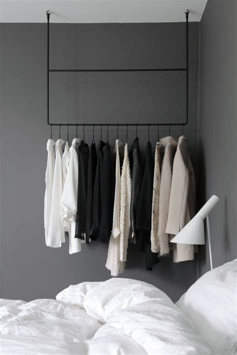 Ideas For Hanging Clothes Without A Closet by Best 20 No Closet Solutions Ideas On No