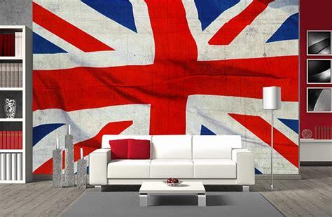 papier peint panoramique drapeau de l angleterre en grand