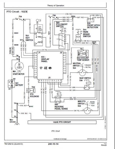 Deere Pto Wiring Diagram by Deere Seat Switch Wiring Diagram Wiring Diagrams