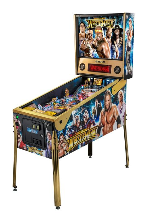 stern wwe wrestlemania le pinball machine liberty games