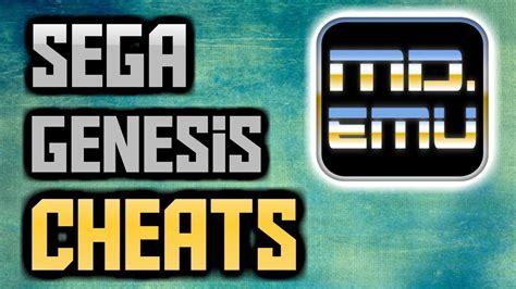 How To Putadd Cheats In Sega Genesis Md Emulator
