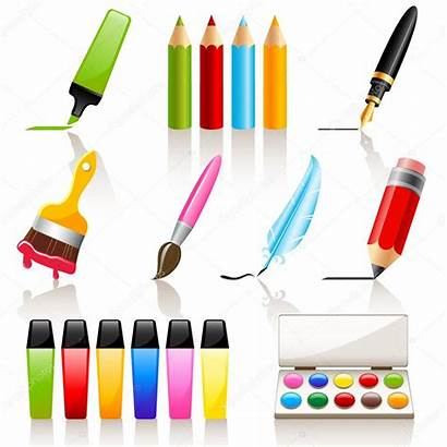 Tools Drawing Painting Vector Illustration Tool Icon
