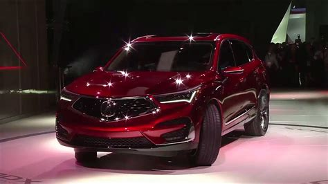 2019 Acura Rdx Prototype World Debut At The 2018 North