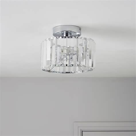 colours pereti 2 flush ceiling light departments diy at b q house stuff