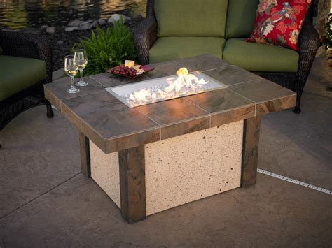 outdoor gas fireplace table outdoor fire tables marquis company stores of oregon