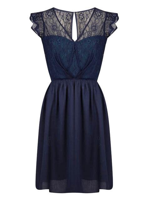 robe pour mariage bleu marine dentelle robes bleu marine pour mariage