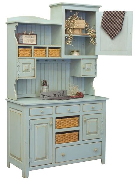 kitchen furniture hutch primitive farmhouse kitchen hutch pantry cupboard