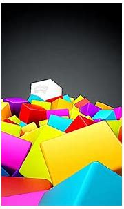 All About HD Wallpaper: 3D Cube Colorfull Android Nexus ...