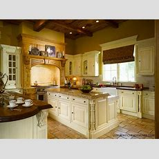 Clive Christian Kitchen In Antique French Oak & Cream