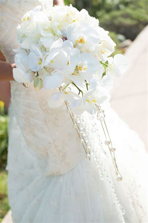 Wedding Flowers Gorgeous Full Cascading Bridal Bouquets