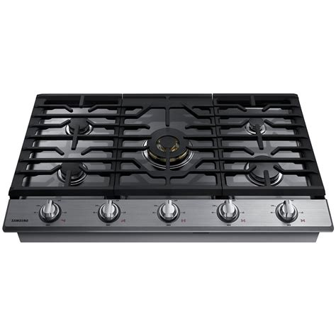 Gas Cooktop by Na36k7750ts Samsung Appliances 36 Quot Gas Cooktop With Dual