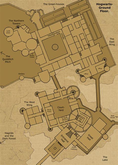 love floor plans  pinterest floor plans hogwarts