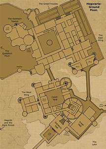 Hogwarts ground floor by hogwarts castle on deviantart for Map of hogwarts castle all floors