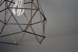 Paille En Metal : fabriquer un lustre g om trique avec des pailles ~ Teatrodelosmanantiales.com Idées de Décoration