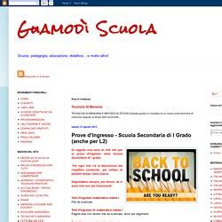 Test Ingresso Scuola Secondaria by Prove Di Ingresso Pearltrees