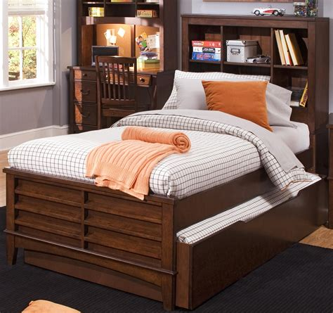 Bed Bookcase by Liberty Furniture Chelsea Square Youth 628 Ybr Tbb