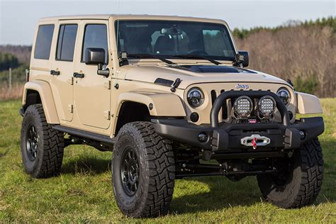 2016 Jeep Wrangler Rubicon Unlimited Mojave Sand