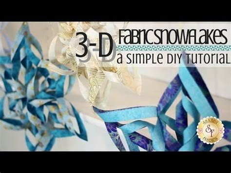 shabby fabrics snowflake 1000 ideas about folded fabric ornaments on pinterest quilted ornaments fabric ornaments and