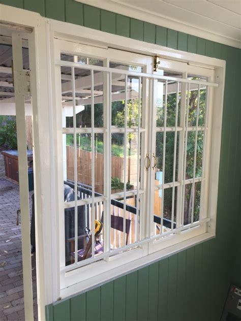 steel security window bars grilles brisbane vincent security