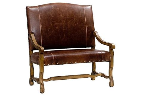 How To Clean Leather Settee by Warrington Settee Leather On Onekingslane New House