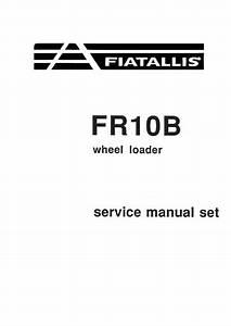New Holland Fr10b Wheel Loader Service Manual Set Manual