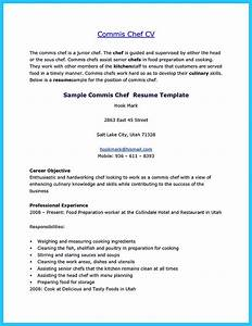 Simple Cv Form Excellent Culinary Resume Samples To Help You Approved