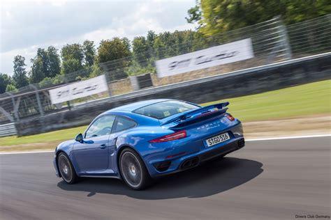 Fuer Die Rennstrecke Der Neue Porsche 911er Turbo by Tracktest Porsche 911 Turbo S Mit Walter R 246 Hrl Drivers
