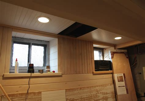 Beadboard Options & Ceiling With Removable Sections