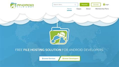 android file host android file host celebrates its website redesign with a