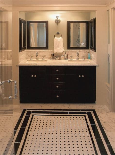 bathroom tiles black and white ideas 27 small black and white bathroom floor tiles ideas and