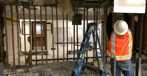 castaic middle school begins campus updates locker room demolition
