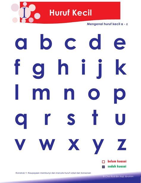 huruf scrabble kecil x 3 huruf 2 petua asas membaca