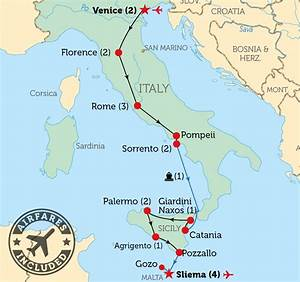 Map Malta Italy images
