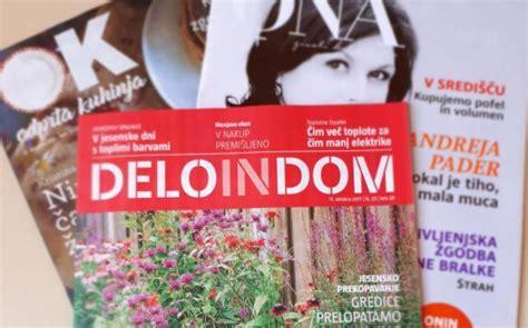 Deloindom izide 25. oktobra