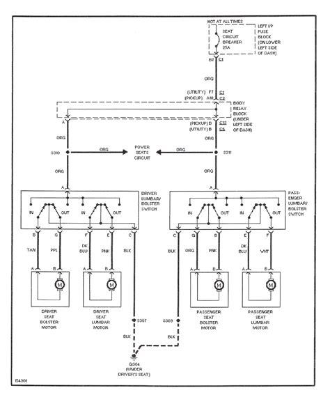 2002 Chevy Silverado 2500 Wiring Diagram by Installing Feature 8 Way Seats Into A Chevy Silverado