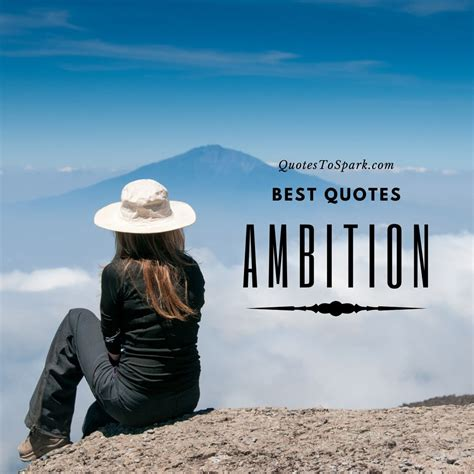 Ambition Quotes and Sayings To Inspire You To Never Give Up