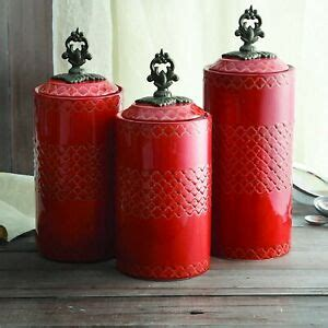 Don't get me wrong, you may already know that but there are so many variances in such a simple device, it can sometimes lead you astray. Red Kitchen Canister Set Ceramic Counter Storage Containers Coffee Sugar GIFT 88235324719 | eBay