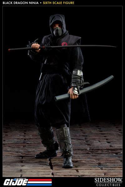 gi joe black dragon ninja sixth scale figure  sideshow