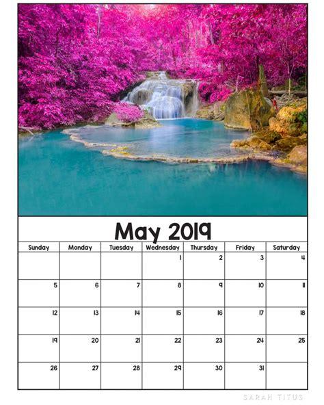printable  nature calendars sarah titus