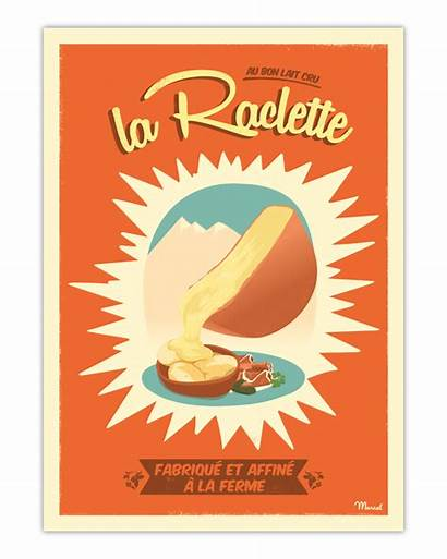 Raclette Poster Marcel Affiche Affiches