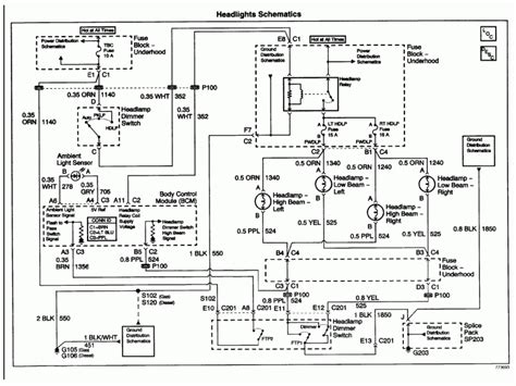 chevy silverado headlight wiring diagram wiring diagram  wiring forums