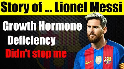 lionel messi biography motivational success story