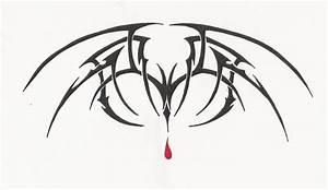 Tribal Vampire Bat design by LordNightwalker on DeviantArt
