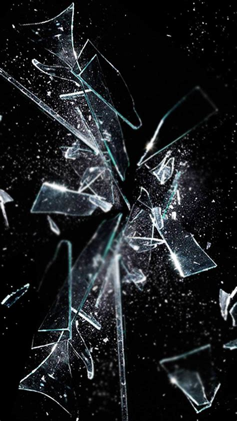 A collection of the top 39 cell phone wallpapers and backgrounds available for download for free. Realistic Broken Screen Wallpaper HD (64+ images)