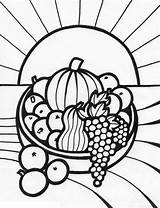 Fruit Coloring Printable sketch template