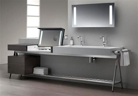 bathroom vanities with dressing table bath vanity with built in dressing table by dedecker