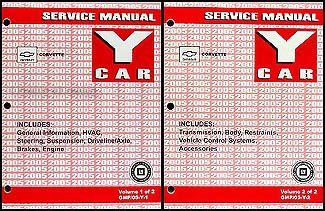online car repair manuals free 2005 chevrolet corvette transmission control 2005 chevrolet corvette repair shop manual original 2 volume set