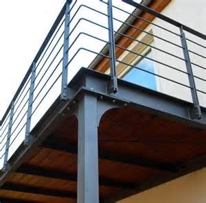 balkon stahlkonstruktion stahlbalkon stahlblau