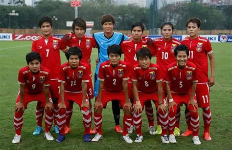 afc womens olympic qualifiers  indonesia  myanmar