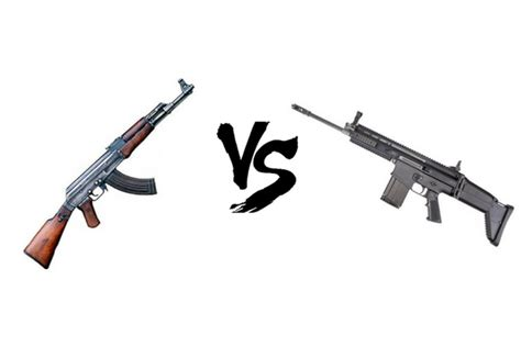 ak47 vs ar15 which one is the superior among them